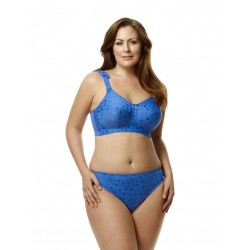 34E to 52G, Blue, Jacquard...